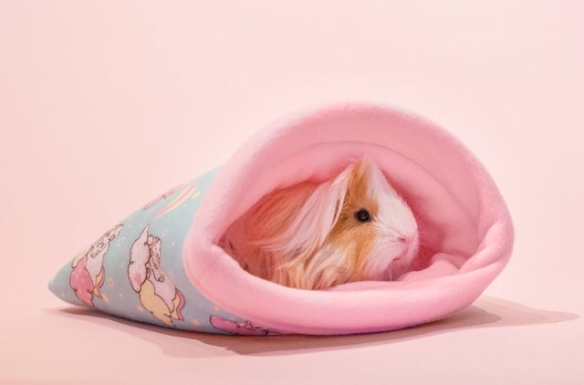 "Guineapig Fleece Bed ""Unipiggie"" Snuggle Sack"
