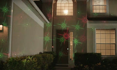 Red & Green Laser Light - With Remote + Patterns
