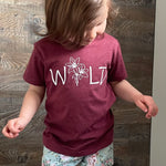 Wildflower Cranberry Tee