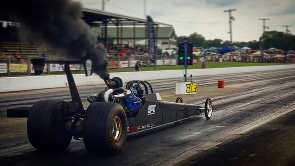 World's First 6.7L Powerstroke Dragster