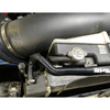 SPE Motorsport Coolant Hose Reroute Kit to radiator connection