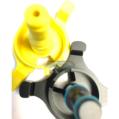 SPE Billet Fuel Drain Valve- 2017-2019 comparison
