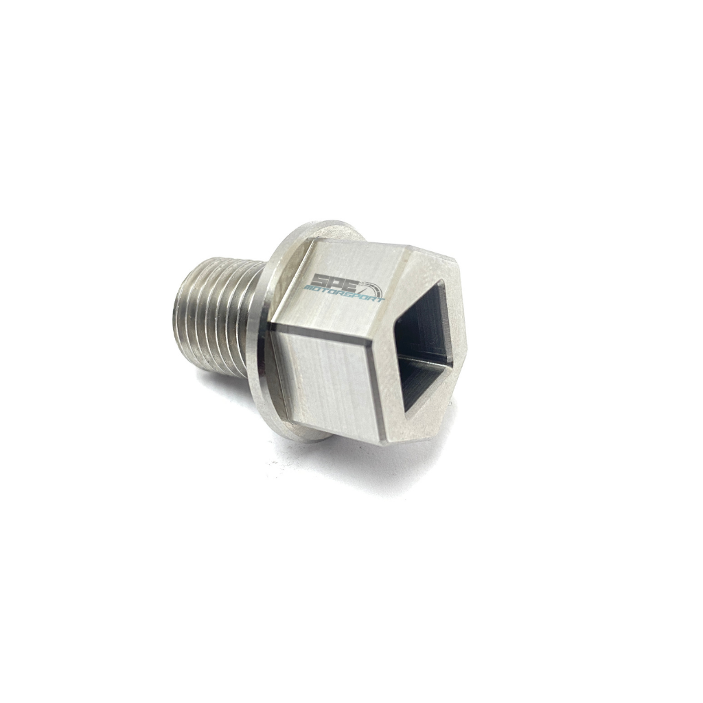 SPE Motorsport 6.7L Powerstroke Billet Stainless Steel Oil Drain Plug