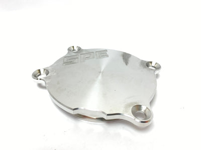 SPE Motorsport Coyote Billet Water Pump Block Off