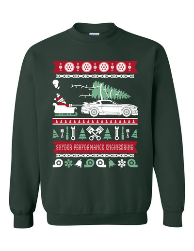 SPE Ugly Sweater Mustang GT500 GT350