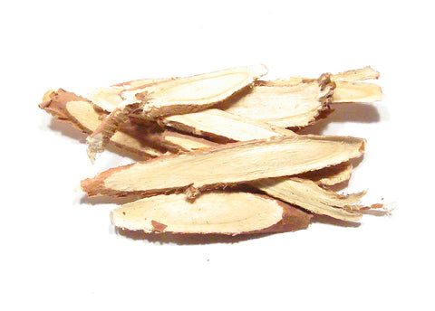 licorice root sliced