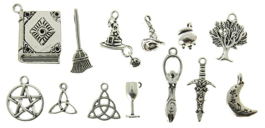 AVBeads Mixed Wiccan Charm Packs 1253 & 2447 are back in stock on Amazon Prime