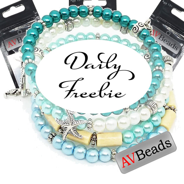 AVBeads Daily Freebie Winners List