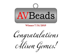 AVBeads Daily Freebie Winner 7/31/2019