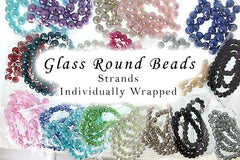 Bead Strands Individually Wrapped