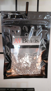 AVBeads Fairy Girl Charms Silver 100pcs
