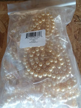 Load image into Gallery viewer, Bulk 1500pcs Czech Style Pressed Glass Satin Painted Round Strand Beads Beading Jewelry Making 6mm Gold 20 strands 75pcs per string