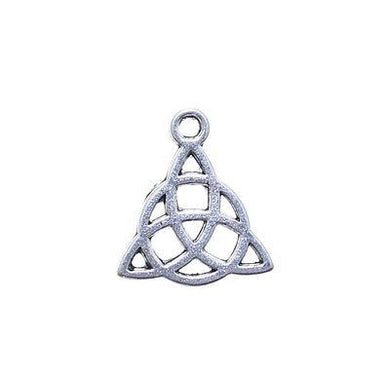 AVBeads Celtic Knot Triquetra Charms Silver 16mm x 14mm Metal Charms 10pcs