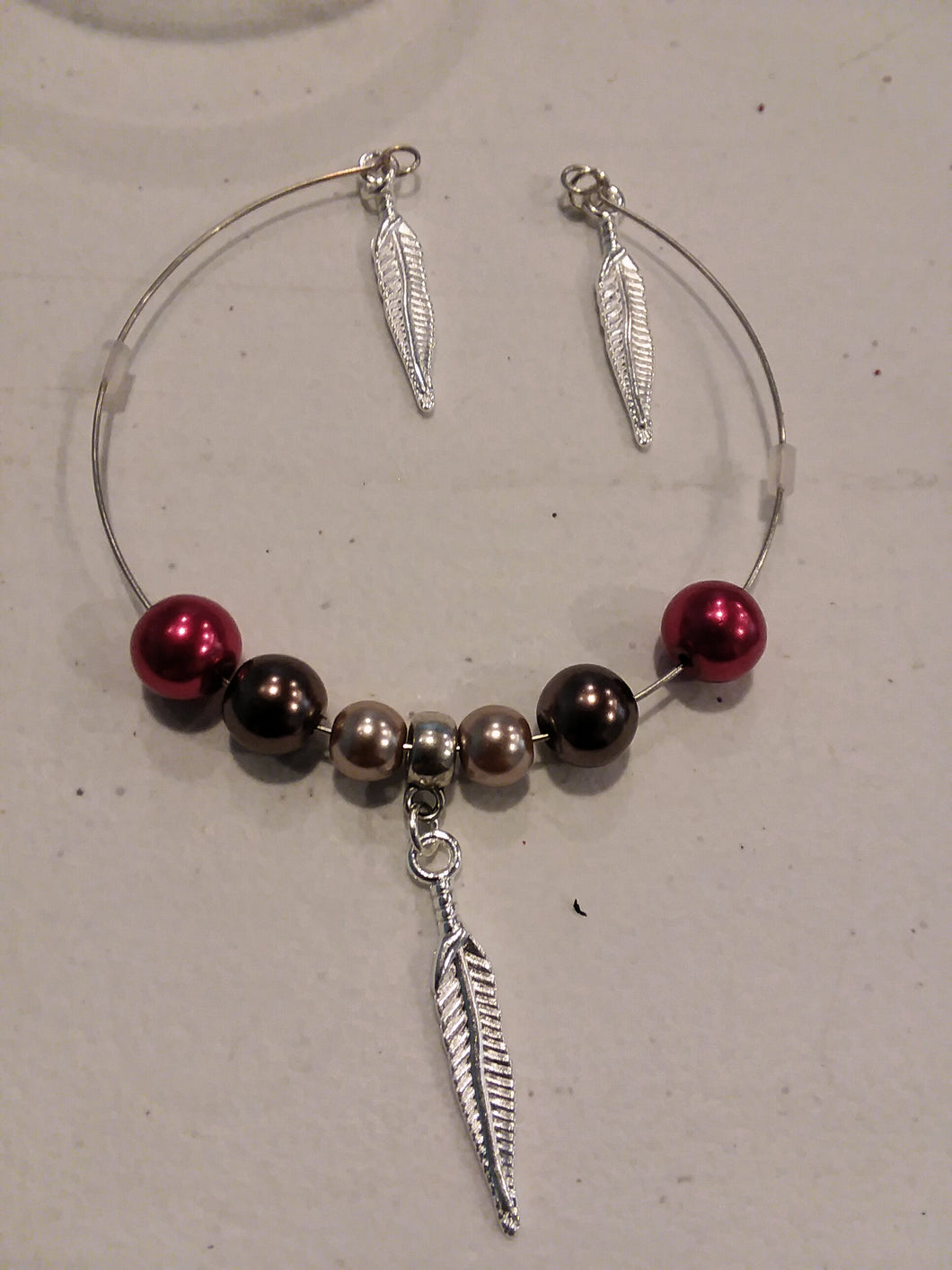 Feather Charm Bracelet RBB