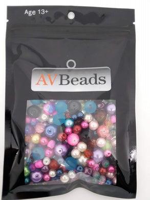 AVBeads Bulk Beads Mixed Beads Glass Beads 5oz Scatter Mix