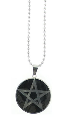 Pentacle Pendant on 24