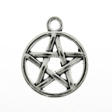 Add a Charm - Metal Charms - Pentacle