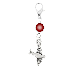 AVBeads Accessory Charm Clips Clip-On Bird Charm ACC-42733-A2