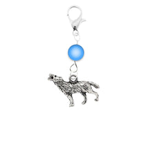 Load image into Gallery viewer, AVBeads Accessory Charm Clips Clip-On Wolf Charm ACC-09317-A2