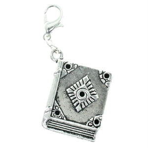 AVBeads Clip-On Charms Book Charm 40x21mm JWLCC29524