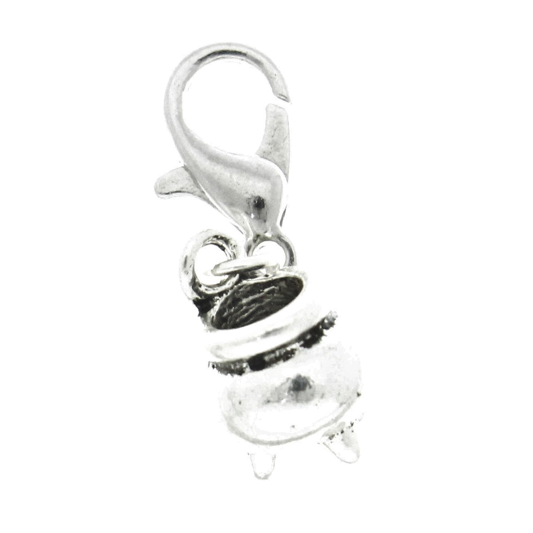 AVBeads Clip-On Charms Cauldron Charm 26mm x 9mm JWLCC29544