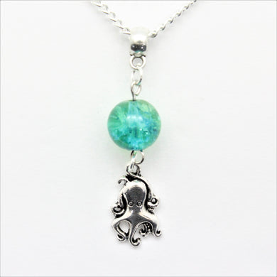 AVBeads Jewelry Beach Necklace 24-inch Y Bead Dangle Octopus Charm JWLNCB40532