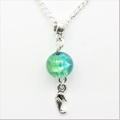 AVBeads Jewelry Beach Necklace 24-inch Y Bead Dangle Seahorse Charm JWLNCB00207