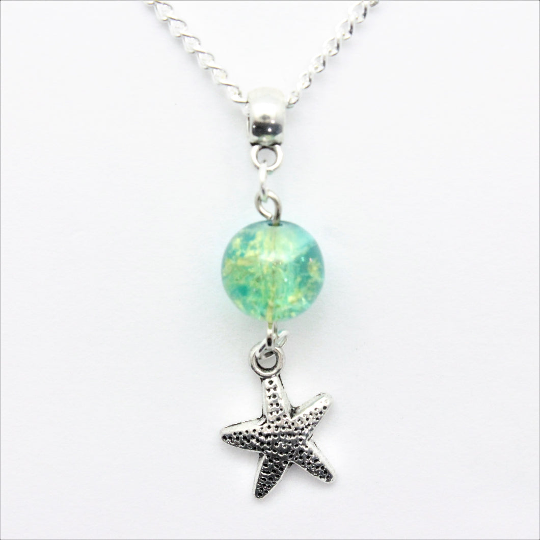 AVBeads Jewelry Beach Necklace 24-inch Y Bead Dangle Starfish Charm JWLNCB32537
