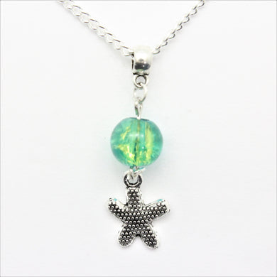 AVBeads Jewelry Beach Necklace 24-inch Y Bead Dangle Starfish Charm JWLNCBP0201