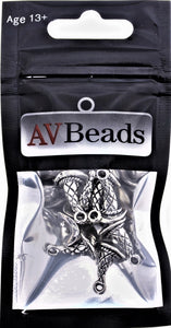 AVBeads Wicca Witch Hat Charms Silver 15mm x 11mm Metal Charms 10pcs