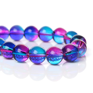 Beads Glass Strand 10mm Transparent  14.5