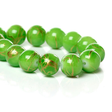 Beads Glass Strand 10mm Drawbench  15