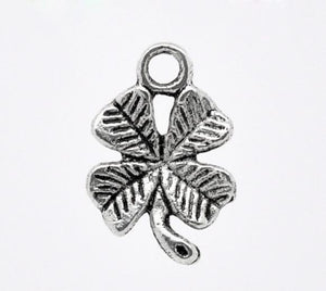Add a Charm - Metal Charms - Clover A