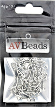 Load image into Gallery viewer, AVBeads Wicca Charms Witch Hat Pumpkin Charms Silver 26mm x 14mm Metal Charms 10pcs