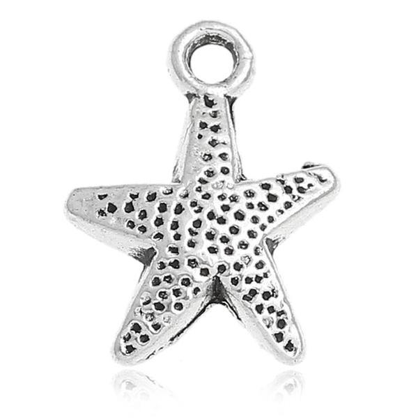 Add a Charm - Metal Charms - Starfish A
