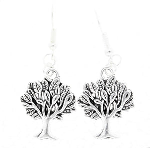 AVBeads Jewelry Charm Earrings Dangle Silver Hook Tree