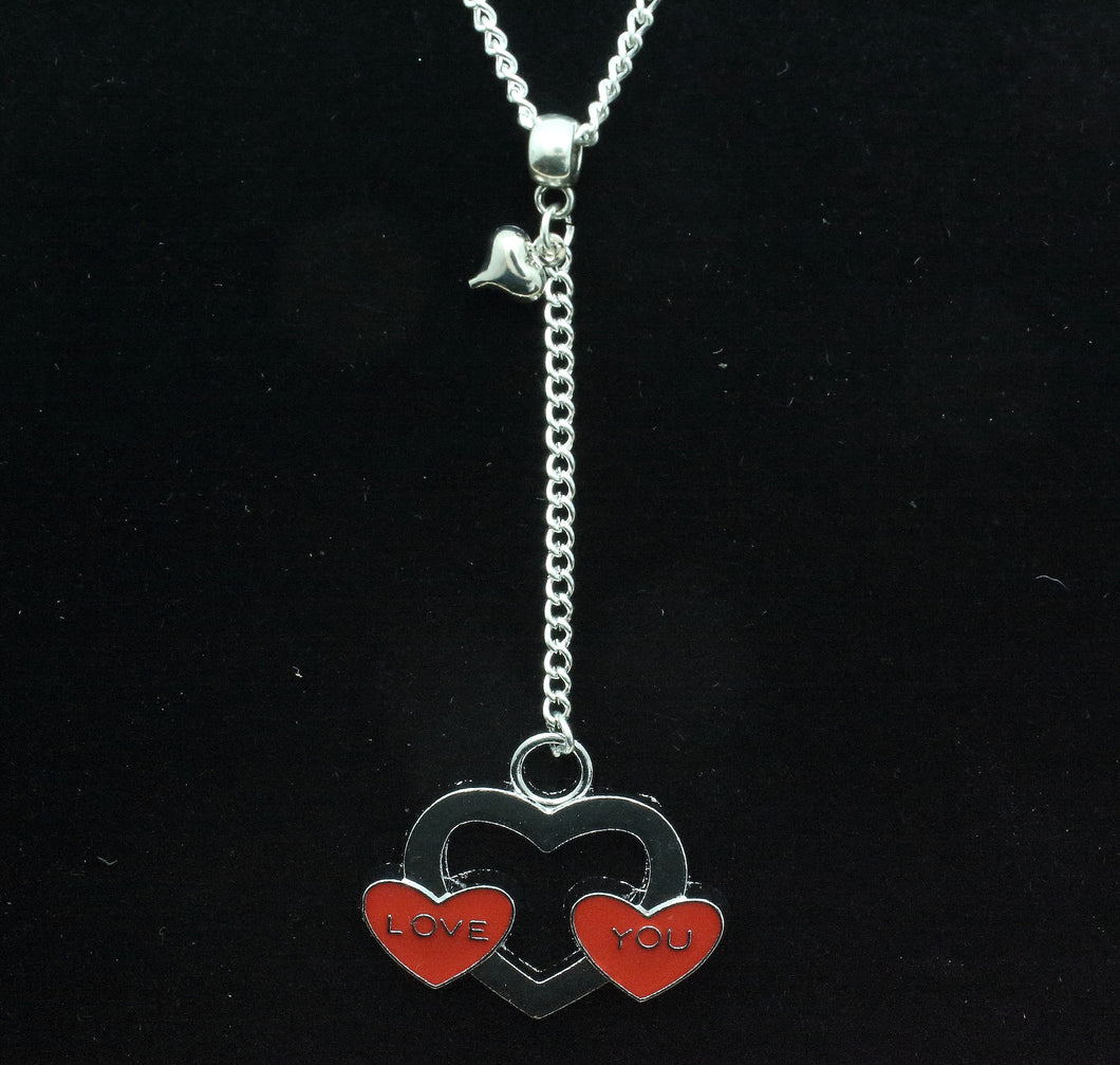 AVBeads Heart Pendant on 24
