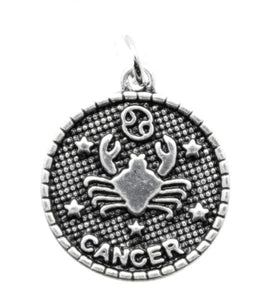 Add a Charm - Metal Charms - Zodiac - Cancer
