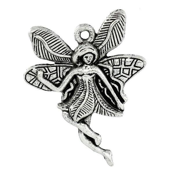 Add a Charm - Large Metal Charms - Fairy C