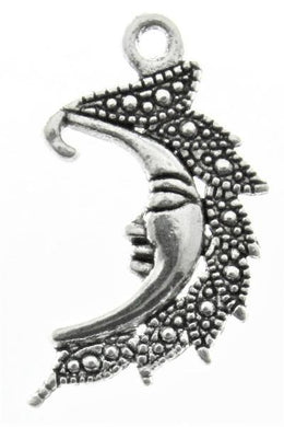 Add a Charm - Metal Charms - Moon A
