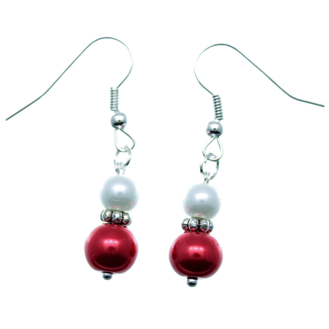 Christmas Jewelry Christmas Earrings Handmade XMAS-JWL-1003
