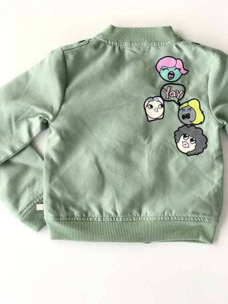 Crazy Girls Bomber
