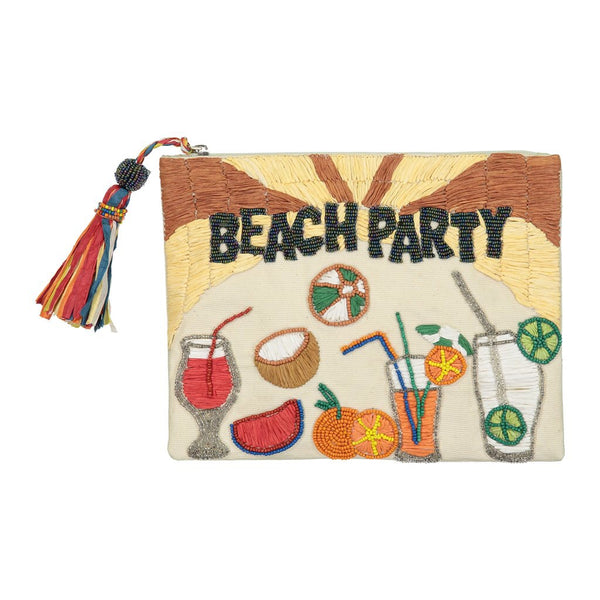 Beach party pouch
