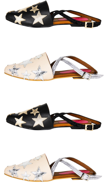 Star Mule with strap