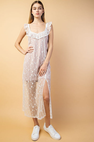 Deena star lace dress