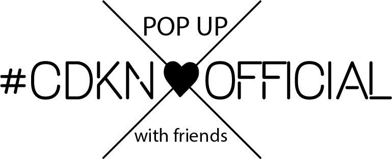 We are hiring for our CDKN_official POP UP with friends in Knokke !