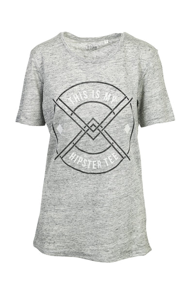 This is my hipster tee - Linen tee