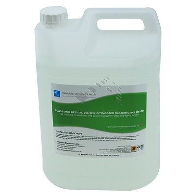 Glass & Optical Lens Cleaning fluid Ultrasonic Cleaning fluid (5Ltr) - Other Vision Care Dental Ultrasonic Cleaners