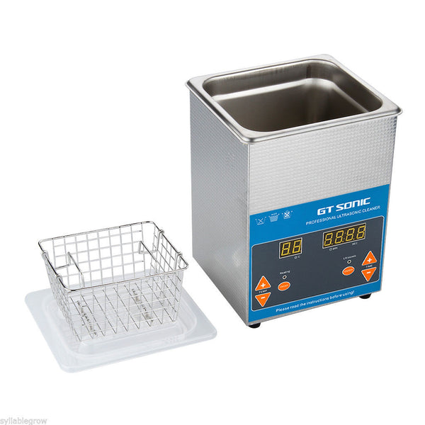 2L Ultrasonic Cleaner - Professional digital -  Dental Ultrasonic Cleaners