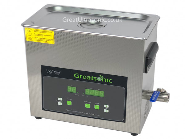 Ultrasonic Cleaner dental - Professional - Degassing (6 L)